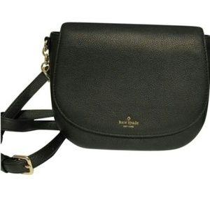 Kate Spade Saffron Larchmont Saddle Bag